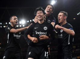 Arsenal 1-2 Eintracht
