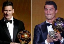 Ballon d'Or Messi Ronaldo