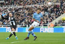 Newcastle 2-2 City