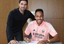 Arsenal Aubameyang