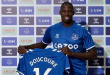 Doucoure Everton